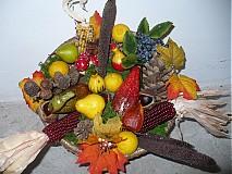 Dekorácie - jesenny aranzman II - 1869467