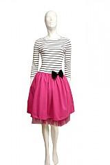 Šaty - Pink passion... - 1872030