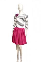 Šaty - Pink passion... - 1872031