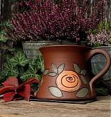 Nádoby - Hrneček s růžemi - 1877509
