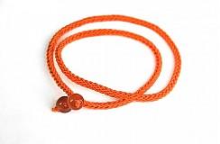 Ozdoby do vlasov - ČELENKA s oranžovými gorálkami - 1878903