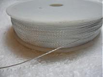 Galantéria - Syntetická niť 0,6mm-80m - 1879027