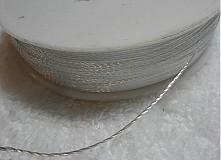 Galantéria - Syntetická niť 0,6mm-80m - 1879028