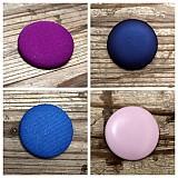 Materiál ručne robený - Buttony potiahnuté kožou 38 mm - 1879174