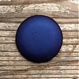 Materiál ručne robený - Buttony potiahnuté kožou 38 mm - 1879175