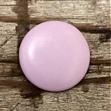 Materiál ručne robený - Buttony potiahnuté kožou 38 mm - 1879176