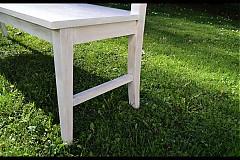 Nábytok - Bílá lavice - 1888765