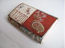 Peňaženky - Motýlí tanečky a ptačí snění -15 X 10,5 :-) - 1894788