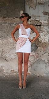 Šaty - Šaty---ROZNE KOMBINACIE FARIEB--- - 1895025