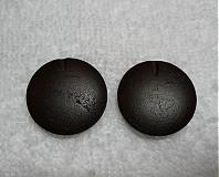 - Drevené 2,5cm-tm.hnedá-1ks - 1898096
