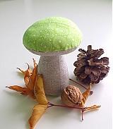 Dekorácie - hríbik zelený - 1902666