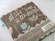Taštičky - Život žijeme v momentech - Andělínčina kapsička - 1903494