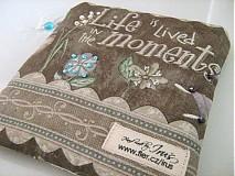 Taštičky - Život žijeme v momentech - Andělínčina kapsička - 1903495