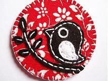 Odznaky/Brošne - brošňa s vtáčikmi - 1910985