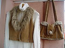 - Vesta a taška z reci kožúška - 1911004