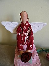Bábiky - Anjelka zo záhrady - 1912214