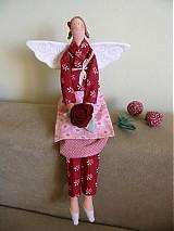 Bábiky - Anjelka zo záhrady - 1912215