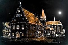 Obrazy - Námestie-moonlight - 1917845