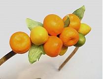 Ozdoby do vlasov - Citrusová čelenka - 1943971
