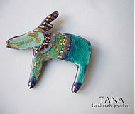 Odznaky/Brošne - Tana šperky-keramika, zlato, sobík Artur - 1960710