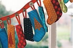 Tabuľky - Adventný kalendár čižmičky - 1965406