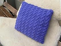 Úžitkový textil - pletené vankúše - 1965521