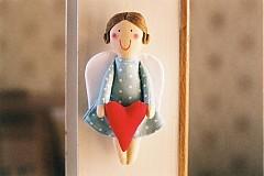 Bábiky - Anjelik so srdiečkom - 1965587