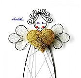 Dekorácie - Anjelik ♥ LÁSKY... - 1977097
