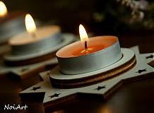 Svietidlá a sviečky - Vianočný svietnik HVIEZDA - 1981844