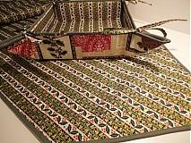 Úžitkový textil - Vianočná cezminová súprava - 1982809