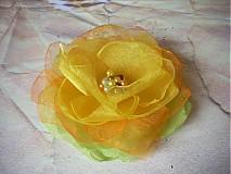 brošňa žltozelená
