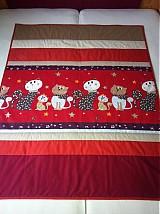 Úžitkový textil - Mačičková deka - 1985167