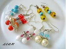 Sady šperkov - Sada korálkových náušníc - 1987583