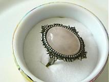 Prstene - Ružový kremeň - 1987713