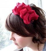 Ozdoby do vlasov - Z lupienkov ruží II - 2011736