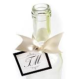 Papiernictvo - VISAČKY na svadobné fľaše - 2022320