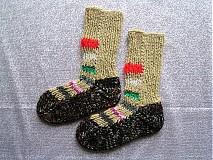 Obuv - veselé ponožky veľ.34-35 - 2026482
