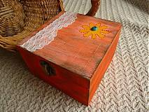 Krabičky - oranžáda - 2030810