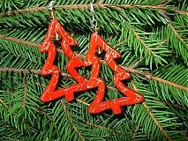 Náušnice - Vianočný stromček na uškách :) - 2033955