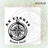 Nezaradené - Razítko EX LIBRIS kompas - 2055261