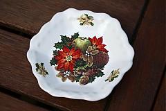 Nádoby - Vianočná misa malá - jeseň - 2056055