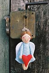 Bábiky - Anjelik so srdiečkom - 2058213