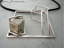 Náhrdelníky - Cubic Hemisphere II. - 2060523