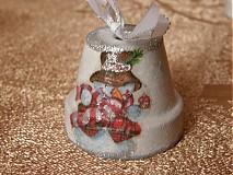 Dekorácie - Vianočné zvončeky - 2061084