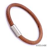 Šperky - Samuel - hnědý - pánský kožený náramek - 2066952