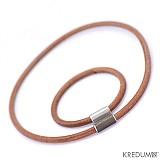 Šperky - Samuel - hnědý - pánský kožený náramek - 2066953
