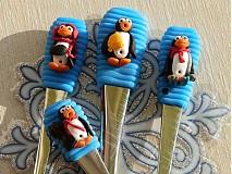 Pomôcky - Detský príbor s tučniačikom - 2070635