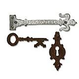 Pomôcky/Nástroje - V zľave z 15,50€/ Vyrez.šablónaBigz / Kľúč so zámkou - 2076815
