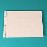 Papiernictvo - Elegantná kniha A5 - japonská väzba - 2077973