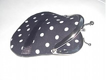 - Čierno-biele-bodky-mini-peňaženka - 2078607